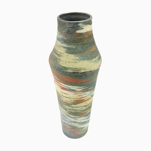 Large Ceramic Floor Vase from Eva Bod, 1970s