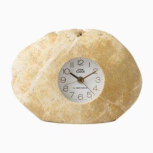 Vintage Stone Clock from Wehrle, 1980s