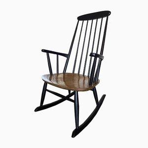 Scandinavian Rocking Chair by Ilmari Tapiovaara, 1950s