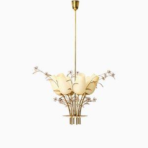 Deckenlampe von Paavo Tynell für Singk Oy, Finnland