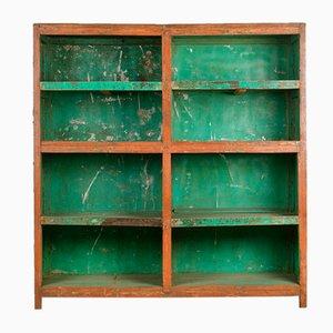 Wooden Workshop Shelf