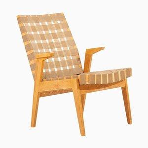 Lounge Chair in Dark Beige by Arden Riddle,1950s