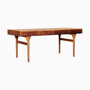 Schreibtisch mit Vier Schubladen von Nanna Ditzel, Dänemark, 1950er
