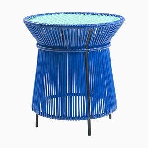 Blue Caribe High Table by Sebastian Herkner