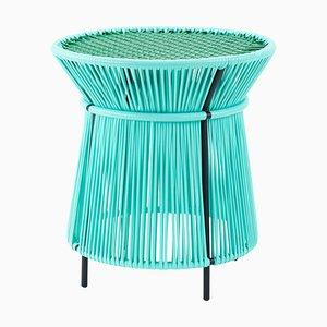 Mintfarbener Caribe Tisch von Sebastian Herkner