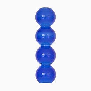 Blue Bubble Vase by Valeria Vasi