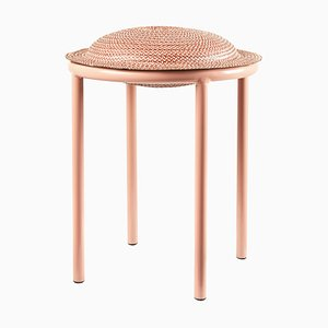 Red Cana Stool by Pauline Deltour