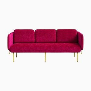 Kleines pinkes Alce Sofa von Chris Hardy