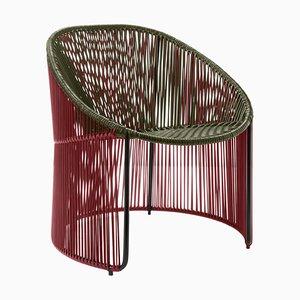 Olive Cartagenas Lounge Chair by Sebastian Herkner