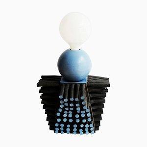 Baso Clay Lamp by Ia Kutateladze