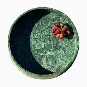 Großes Plumb Marmor Tablett von Essenzia