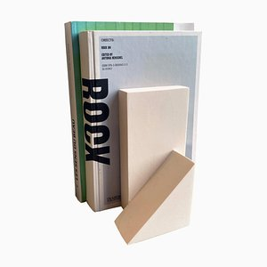 White Bookend Mould Project by Theodora Alfredsdottir
