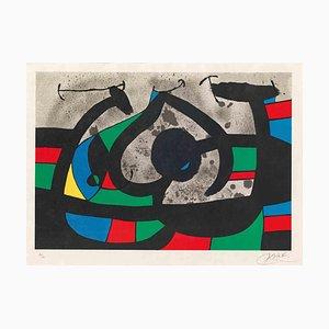 Joan Miró, Le Lézard aux Plumes d'Or, Lithographie, 1971
