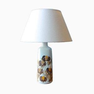 Lámpara de mesa danesa de fayenza de Ellen Malmer para Royal Copenhagen, años 60