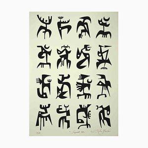 Leo Guida, Signal, Original Lithographie, 1984