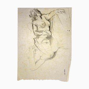Leo Guide, Female Figure, Drawings, 1970s