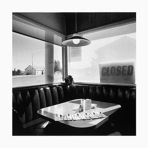Nicelys Café, Mono Lake, California, Black and White Square Fotografie, 2003-2021