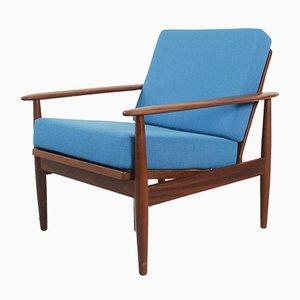 Sessel aus amerikanischem Nussholz, 1960er