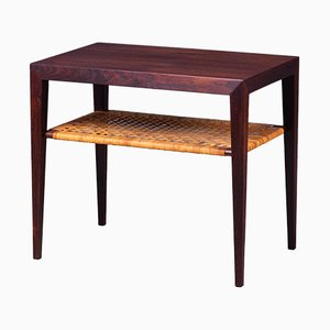 Side Table in Rosewood by Severin Hansen for Haslev, 1950s