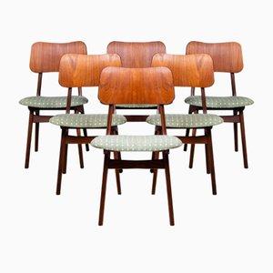 Esszimmerstühle aus Teak von Ib Kofod-Larsen, Dänemark, 1960er, 6er Set