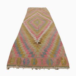 Turkish Handwoven Wool Kilim Area Rug