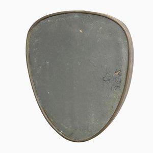 Brass Frame Mirror, 1950s