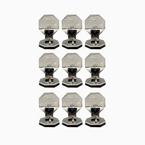 Wall Lamps by Motoko Ishii for Staff, Germany, Set of 9