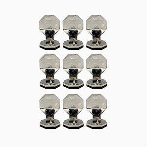 Wandlampen von Motoko Ishii für Staff, Germany, 9er Set