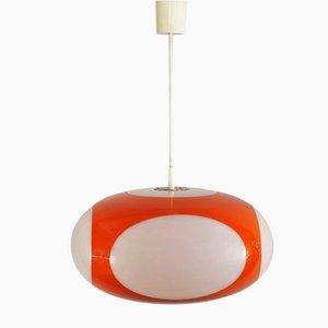 Vintage Vintage Deckenlampe in Orange von Luigi Colani für Massive