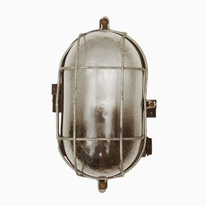 Industrial Bakelite Wall or Ceiling Lamp, 1948