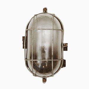 Lampada da parete o da soffitto industriale in bachelite, 1948