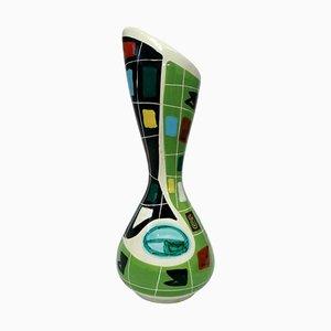 Arlecchino Ceramic Vase by Nino Strada for Deruta, 1950s