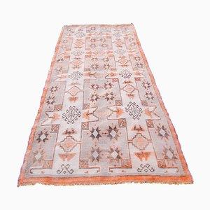 Vintage Anatolian Oushak Wool Rug