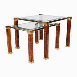 Zweistufige Tische von Pierre Vandel, 2er Set