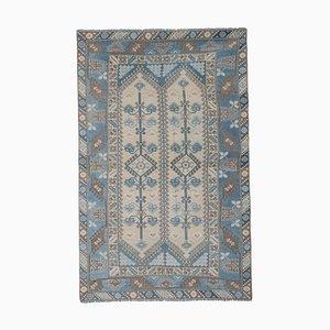 Vintage Blue Turkish Rug