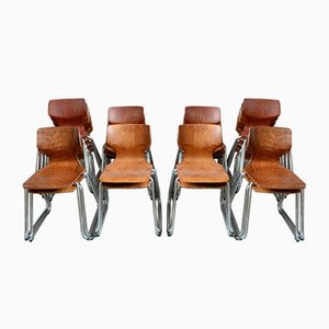 Dining Chairs from Pagholz Flötotto, Set of 10