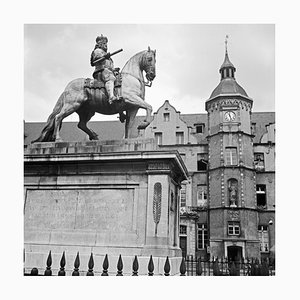 Memorial Jan Wellem at Old City Hall Duesseldorf, Germany 1937