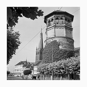 Castle Tower and St. Lambert's Church Dusseldorf, Germany 1937