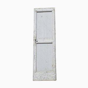 Italian Gray Painted Door, 1900