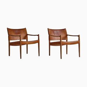 Scandinavian Modern Premiere-69 Armchairs by Per-Olof Scotte for Ikea, Set of 2