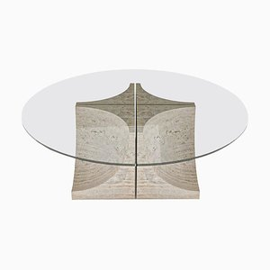 Edge Center Table with 4 Legs by Collector