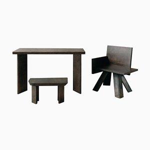 Kleiner Schreibtisch aus Holz von Goons