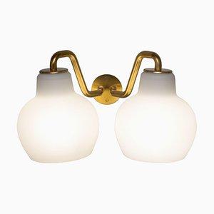 Double Ring Crown Wall Lamp by Vilhelm Lauritzen for Louis Poulsen
