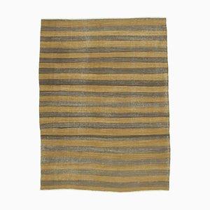 Brauner Orientalischer Kelim Teppich