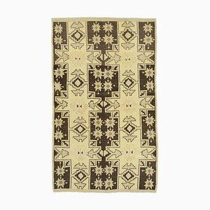 Vintage Anatolian Beige Rug