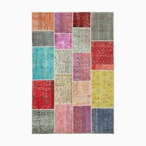 Multicolored Patchwork Rug