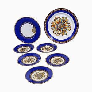 Porcelain Dessert Set, Set of 15