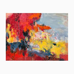 Chinese Contemporary Art, Luo Yi, Serie Red No.3, 2020