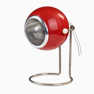 Space Age Red Eye Ball Table Lamp, 1970s