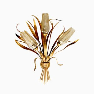 Large Mid-Century Flower Bouquet Sconce by Kögl, 1960s